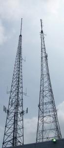 FM, TV, and Telecom Antenna Tower Mast