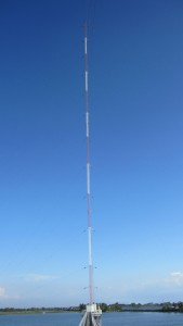 440' AM/MW Guyed Tower Designed for 120mph basic Wind Speed Manilla, Philippines